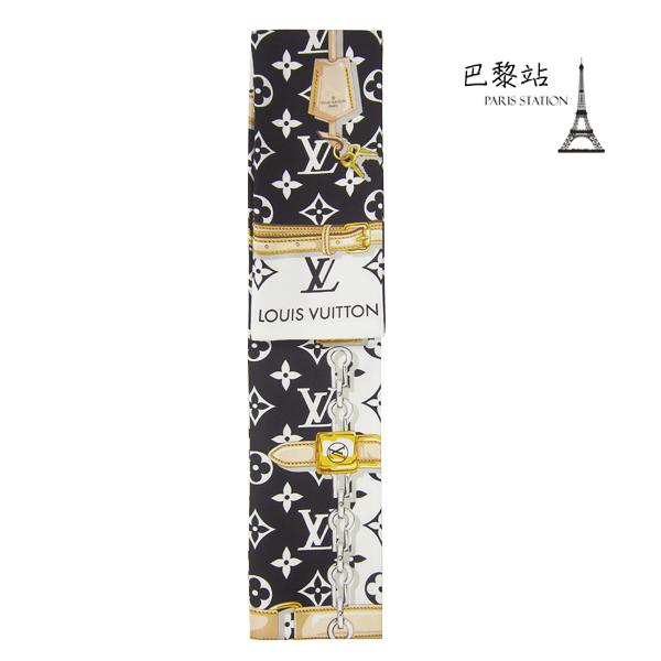 【巴黎站二手名牌專賣店】*全新現貨*LV 路易威登 真品*M78656 MONOGRAM CONFIDENTIAL長絲巾