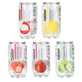 馬來西亞 GLINTER氣泡飲(水蜜桃.青蘋果.荔枝.草莓.檸檬風味)350ml【庫奇小舖】