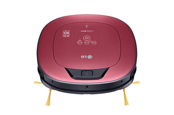 ★結帳再折 LG 單眼 掃地機 VR66413LVM 紅色 WIFI版 LINE控制 變頻馬達 清潔機器人 女人節 母親節