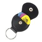 ☆唐尼樂器︵☆皮質 彈片 Pick 夾 收藏鑰匙圈( Pick 收納的好幫手,再也不用弄丟 Pick)