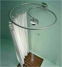 【麗室衛浴】不銹鋼304 旋轉 頂噴 浴簾桿  不含花灑跟浴簾 B-398-1