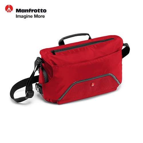 《Manfrotto》PIXI Messenger 腳架郵差包-紅(MB MA-MS-RD)