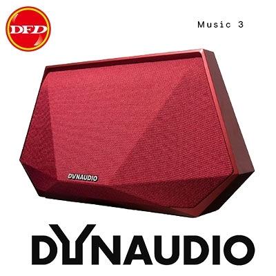 ✿ DYNAUDIO music 3 可攜式無線智慧喇叭 紅 公司貨
