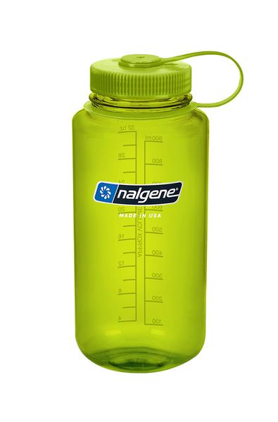美國NALGENE 1000ml 寬嘴水壺 大口徑 春綠色 不含雙酚A 運動水壺 直飲水壺 OUTDOOR NICE