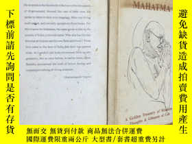 二手書博民逛書店Mahatma:罕見A Golden Treasury of W