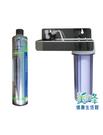 美國EVERPURE賓特爾愛惠普4HL二道式白鐵吊片淨水器.過濾器QL2濾頭蓋3970元(可替代H104)