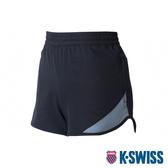 【超取】K-SWISS Woven Shorts 1運動短褲-女-黑