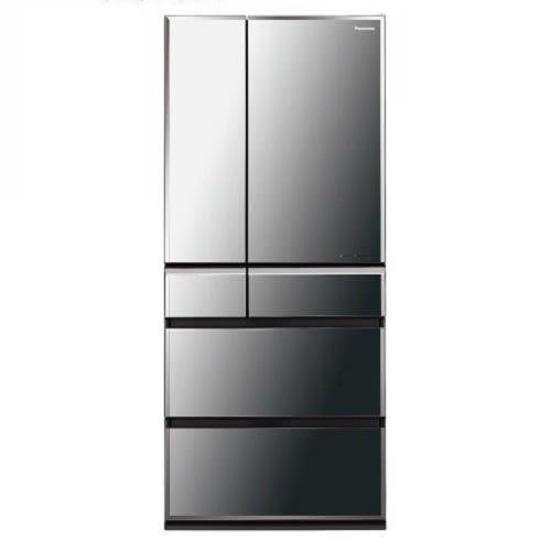 【Panasonic 國際 日本原裝】 665公升變頻六門鏡面電冰箱 NR-F672WX-X1 鑽石黑