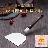 料理鏟 鐵板燒鏟子扒鏟煎餅料理工具不銹鋼平鏟專用牛排304魷魚壓鏟【樂淘淘】