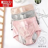 3條|高腰生理內褲月經期防側漏蕾絲性感純棉襠例假姨媽衛生褲