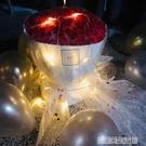 玫瑰花束送女友女神母親節生日媽媽表白仿真花手捧花香肥皂花禮盒