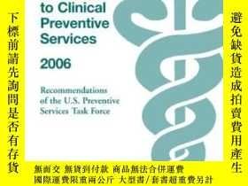 二手書博民逛書店The罕見Guide To Clinical Preventive Services 2006Y255562
