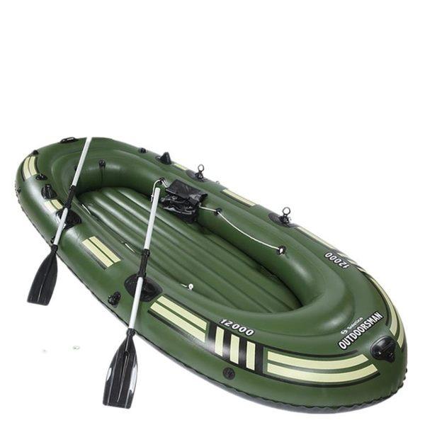 【全館】現折200橡皮艇加厚充氣船皮劃艇釣魚船橡皮船氣墊船中秋佳節