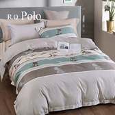 R.Q.POLO 雙人5尺/加大6尺 天絲兩用被床包組 使用3M吸濕排汗專利- 蒙太奇