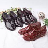 時尚雨鞋女成人雨靴短筒膠鞋低幫防滑廚房工作鞋夏季 sxx2157 【衣好月圓】