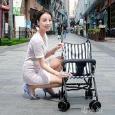 嬰兒推車超輕便攜摺疊兒童寶寶四輪手推車一鍵收 igo 喵小姐