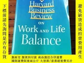 二手書博民逛書店On罕見work and life balanceY206777
