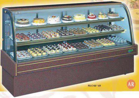 圓弧大理石型 西點蛋糕冷藏櫃【7尺冰櫃】型號:C-107AR
