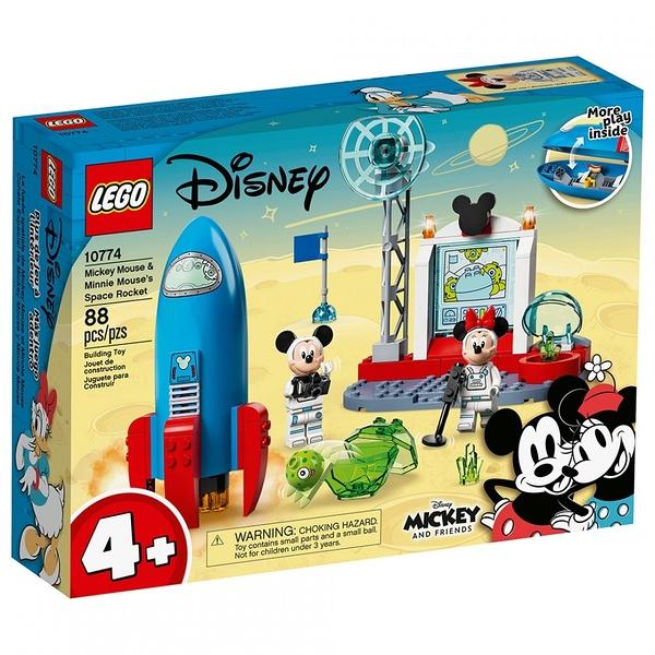 樂高積木 LEGO《 LT10774 》迪士尼系列 - Mickey Mouse & Minnie Mouse's Space Rocket / JOYBUS玩具百貨