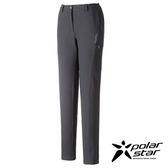 PolarStar 女 輕便多口袋長褲 釣魚褲│休閒褲│吸濕排汗褲│四向彈性3D立體剪裁『鐵灰』P16418