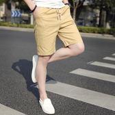 男士短褲五分中褲寬松休閒七分時尚韓版個性大碼大褲衩 巴黎春天