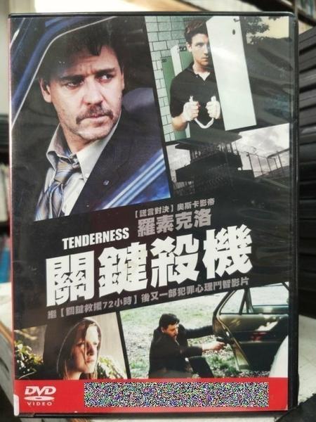 挖寶二手片-G25-002-正版DVD-電影【關鍵殺機】-羅素克洛 蘿拉鄧恩(直購價)