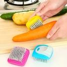 [拉拉百貨]蔬果專用迷你清潔刷 瓜果蔬菜清潔刷 去汙 尼龍刷 刷子 廚房 水果 蔬果