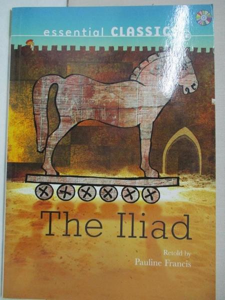 【書寶二手書T9/語言學習_HMD】Evans reading-The Iliad_附光碟_Pauline Francis