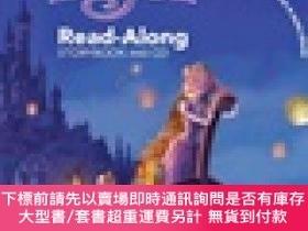 二手書博民逛書店Tangled罕見Read-Along Storybook and CD魔法奇緣Y454646 Lara Be