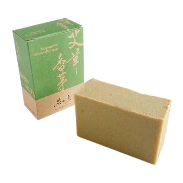 茶山房艾草香茅皂100g【康是美】