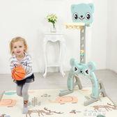 兒童籃球架可升降室內男孩女孩寶寶玩具1-6周歲家用球類投籃架子igo  麥琪精品屋