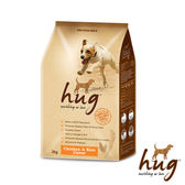 【哈格】狗乾糧 雞肉+米風味 2kg*2包組(A001C01-1)