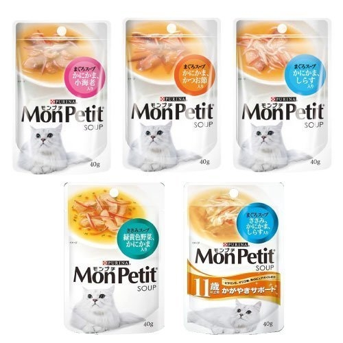 *WANG*【24入組】MonPetit 貓倍麗《極品湯包系列》40g 貓餐包