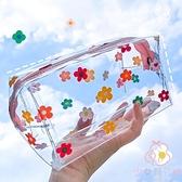 日系可愛透明化妝包大容量便攜洗漱收納包韓國【少女顏究院】