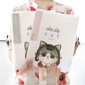 黑五好物節文件夾資料冊學生用小清新A4插頁袋透明20多層分頁側入式韓國 熊貓本