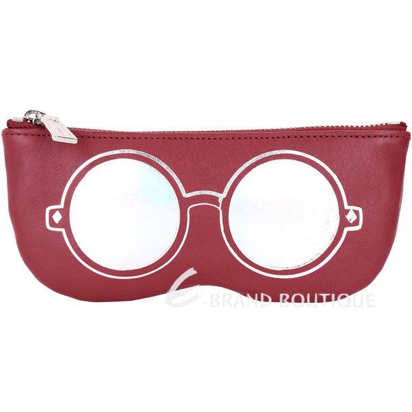 Rebecca Minkoff Mirrored Sunnies 眼鏡造型萬用包(紅色) 1630301-74