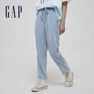 Gap女裝 萊賽爾繫帶寬鬆休閒褲 954...