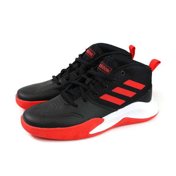 adidas OWNTHEGAME K WIDE 籃球鞋 運動鞋 黑/紅 大童 童鞋 EF0309 no742
