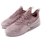 Nike 慢跑鞋 Wmns Air Max Sequent 4 紅 乾燥玫瑰 輕量透氣 氣墊 女鞋 運動鞋【PUMP306】 AO4486-600