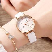 新款chic手錶女中學生韓版簡約潮流復古小清新學院風百搭休閒     電購3C
