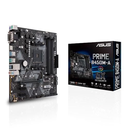 【C+M組合餐】AMD R5 2600+華碩 PRIME B450M-A【刷卡含稅價】