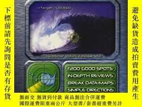 二手書博民逛書店WAVE-FINDER.罕見Surf Guide - USA,