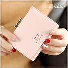 短夾-萌萌糖果色愛心板夾可愛皮夾零錢包  Angelnana (SMA0250)