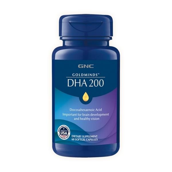 【GNC健安喜】孕養調理 藻油DHA膠囊食品 60顆