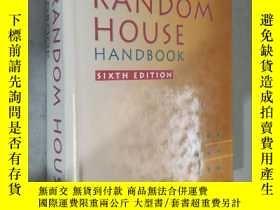 二手書博民逛書店The罕見Random House Handbook (Sixth Edition) 英文原版精裝 館藏Y12