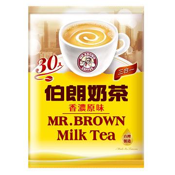●伯朗奶茶三合一17g*30包【合迷雅好物超級商城】