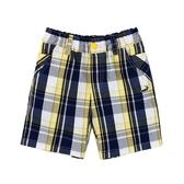 『小鱷魚童裝』黃藍格紋短褲(02號~08號)555688