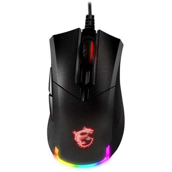 【福利品、9.9成新】MSI Clutch GM50 輕量化RGB電競滑鼠