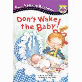 【汪培珽書單】〈All Aboard Reading系列:Picture Reader 〉DONT WAKE THE BABY! /讀本