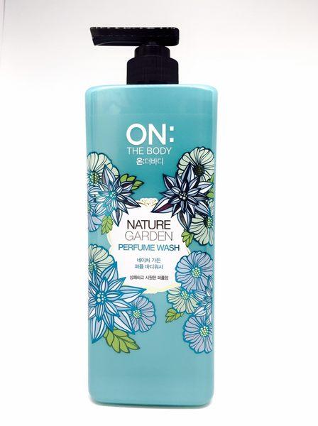 On The Body 香水沐浴精 900ml-藍色森林